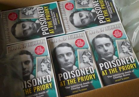 Poisoned at The Priory Books